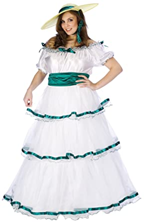 Women\'s Southern Belle Outfit Fancy Dress Halloween Plus Size Costume, Plus  (16-22)