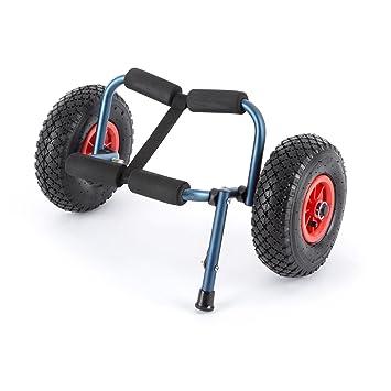 DURAMAXX • Sea Mule BL • Carro de Transporte para Kayak • Acolchado • Plegable • Desmontable • Ruedas de Goma • Carga máx.