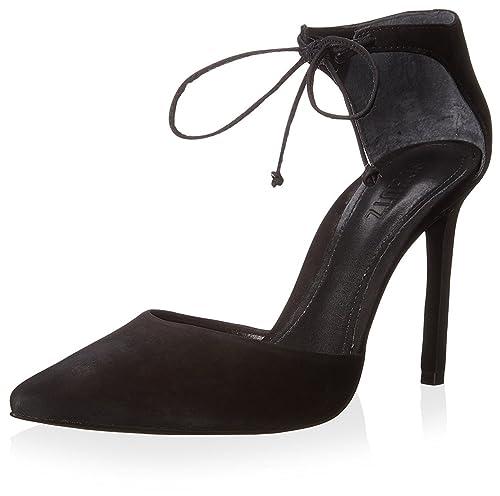 2e152a386e1 Amazon.com: SCHUTZ Women's Kutia Ankle Tie Pump: Shoes