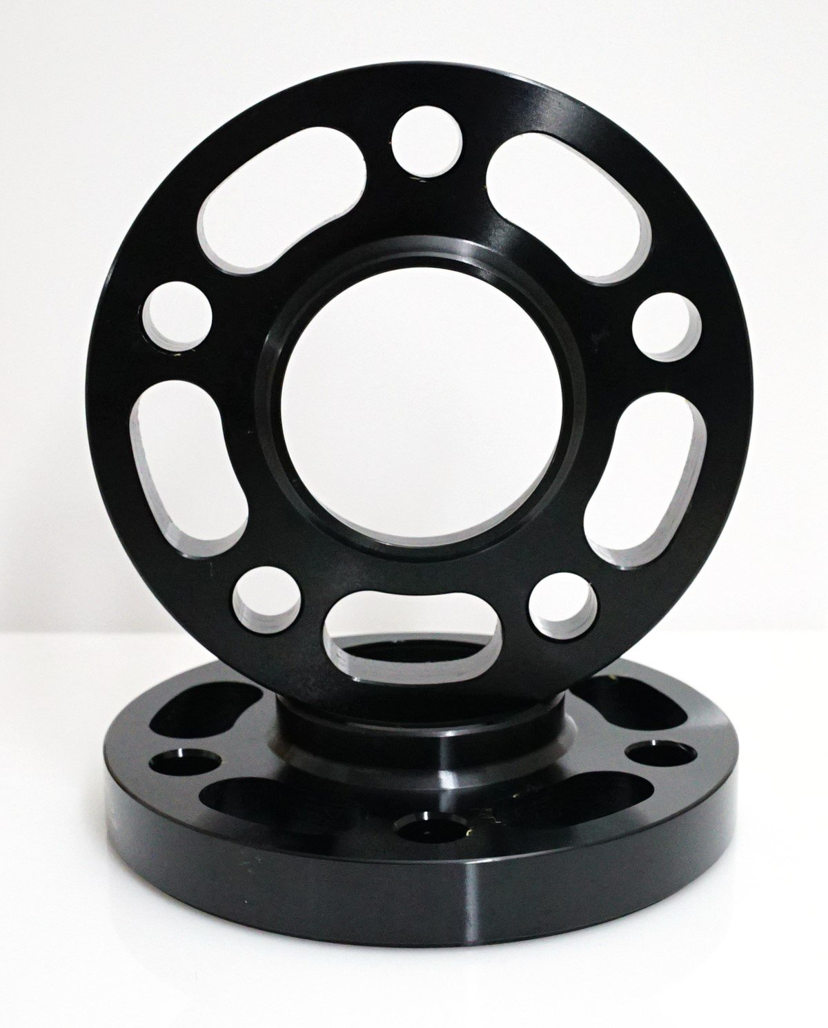 5x112mm Hub Bore 66.56mm Renn Motorsport Renn/_20MM/_SpacerB 2 PCS 20mm Black Wheel Spacers with 10 pcs extended Ball Seat Bolts For Audi and Mercedes Bolt Pattern