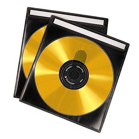 Hama - Loe de cajas para CD-/DVD-ROM (50 unidades), color negro ...