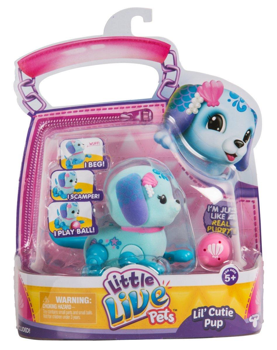 Little Live Pets Lil Cutie Pups Season 2 Single Pack Shine Apple Moose Toys 28665