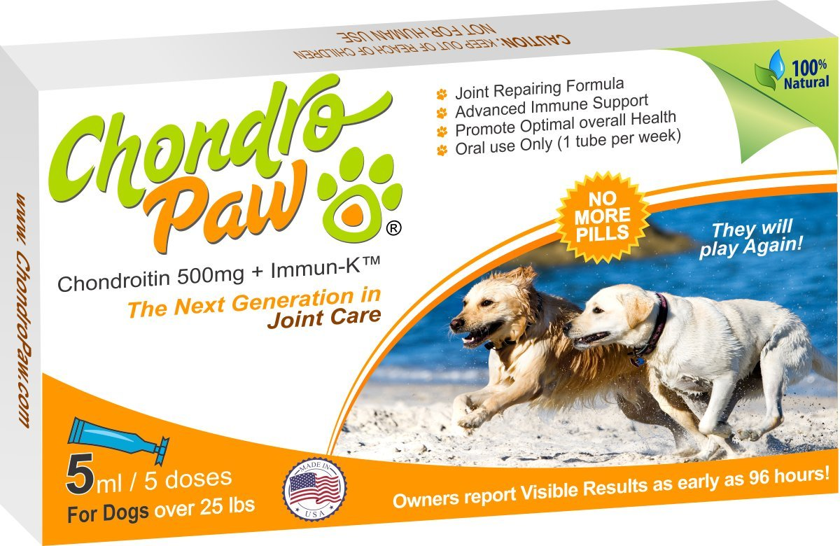 Chondropaw Joint Supplement for Dogs Over 25 lb.