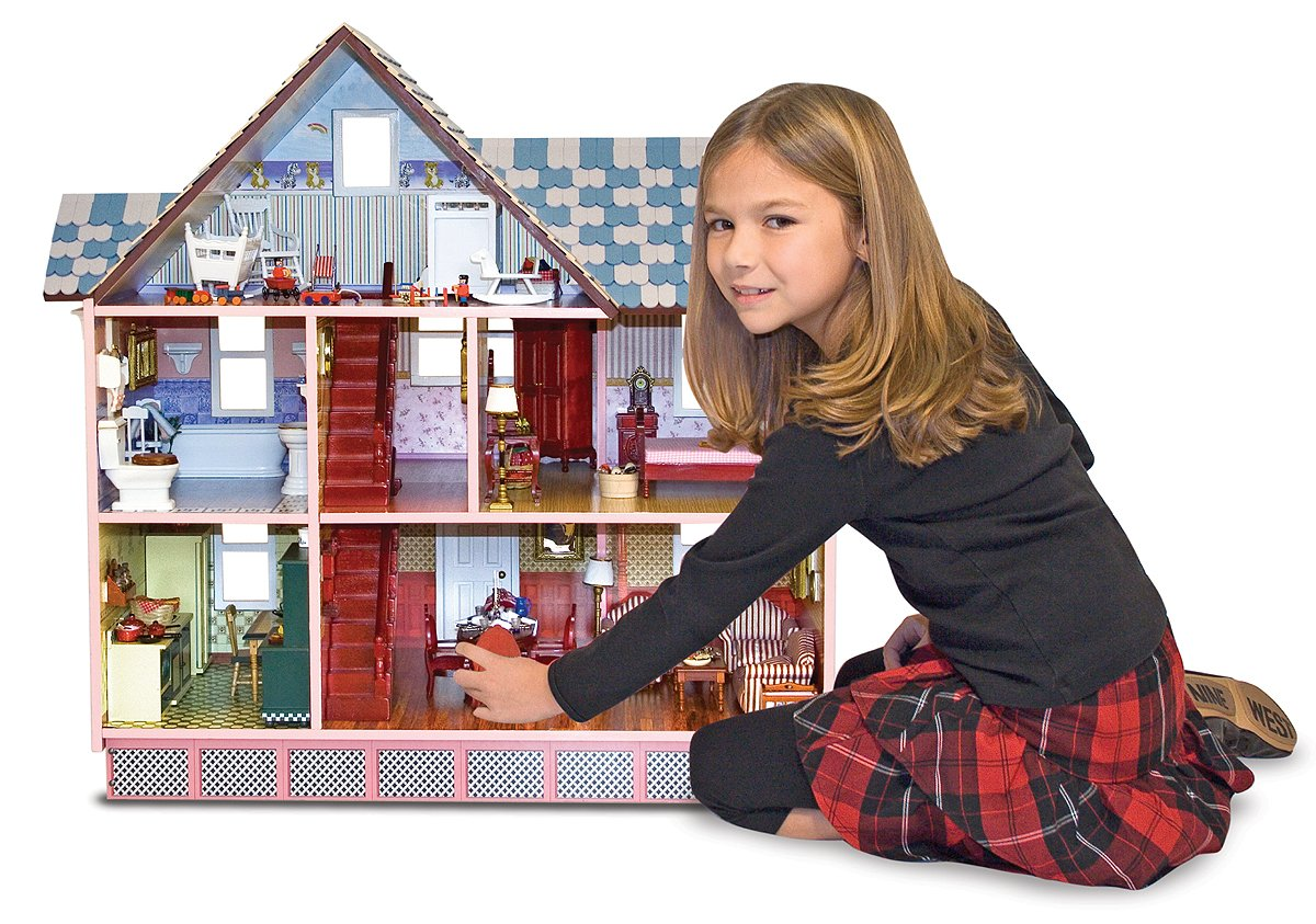 Buy Melissa U0026 Doug 2580 Victorian Doll House Online At Low Prices In India    Amazon.in