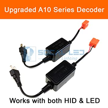 Amazon Com Socal Led 2x A10 H7 Emc Headlight Kit Canbus Hid Led
