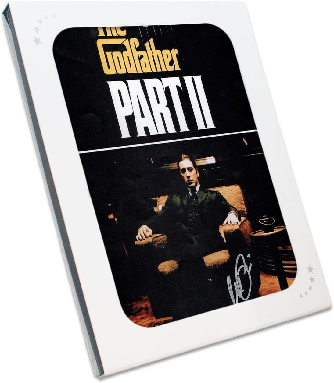 Padrino 2 Póster de película, firmado por Al Pacino. En la caja de ...