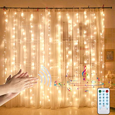 USB 300 LED String Light Remote Control Home Party Wedding Curtain Fairy Lights