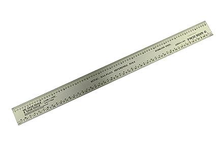 HO OSN Scale Rule, Model Railway, Model Railroad ruler  (X1061) Free UK  Postage