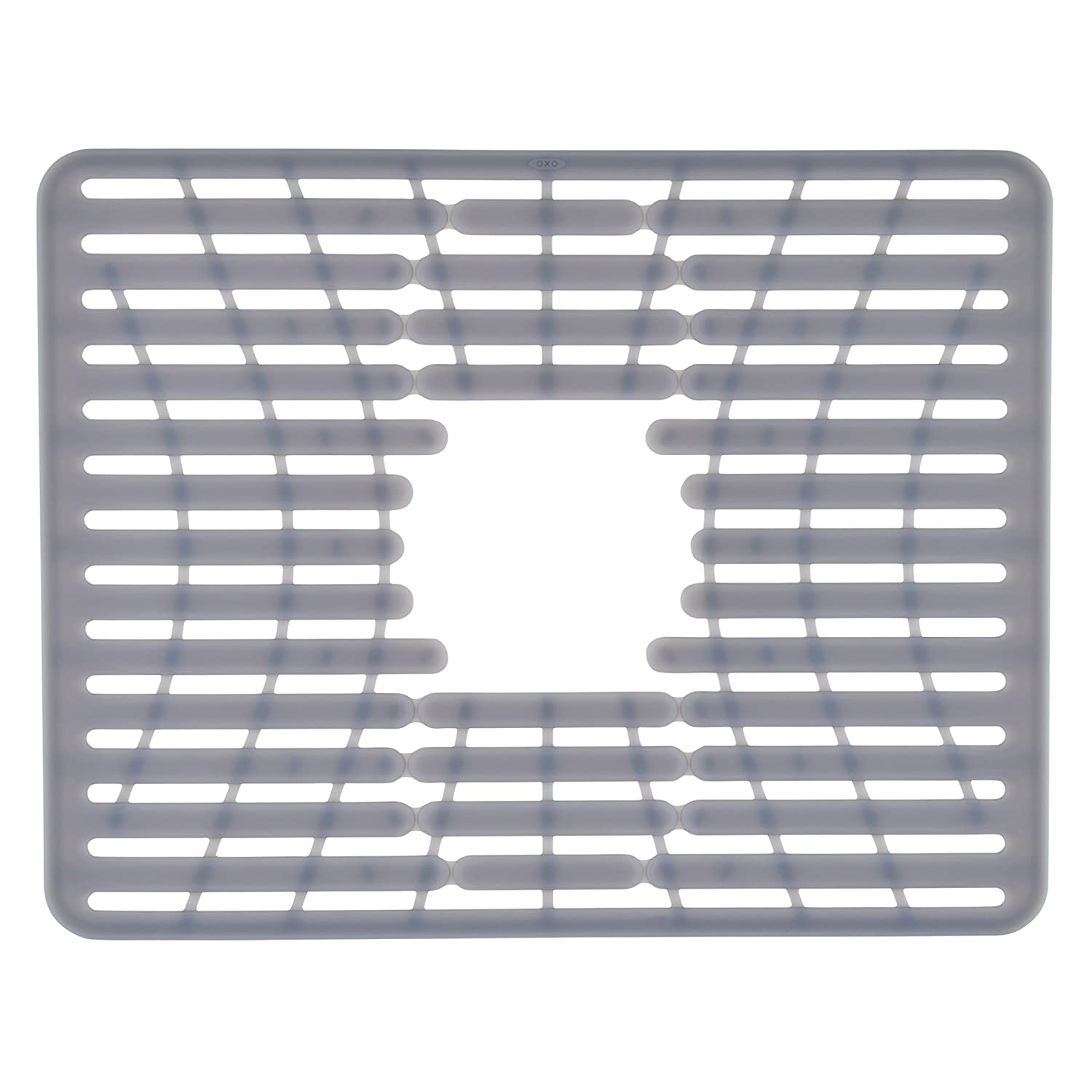 oxo good grips pvc free silicone sink mat large