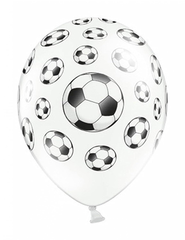 Globos Balones de fútbol 6 Piezas / Aprox. Ø 30 cm: Amazon.es: Juguetes y juegos