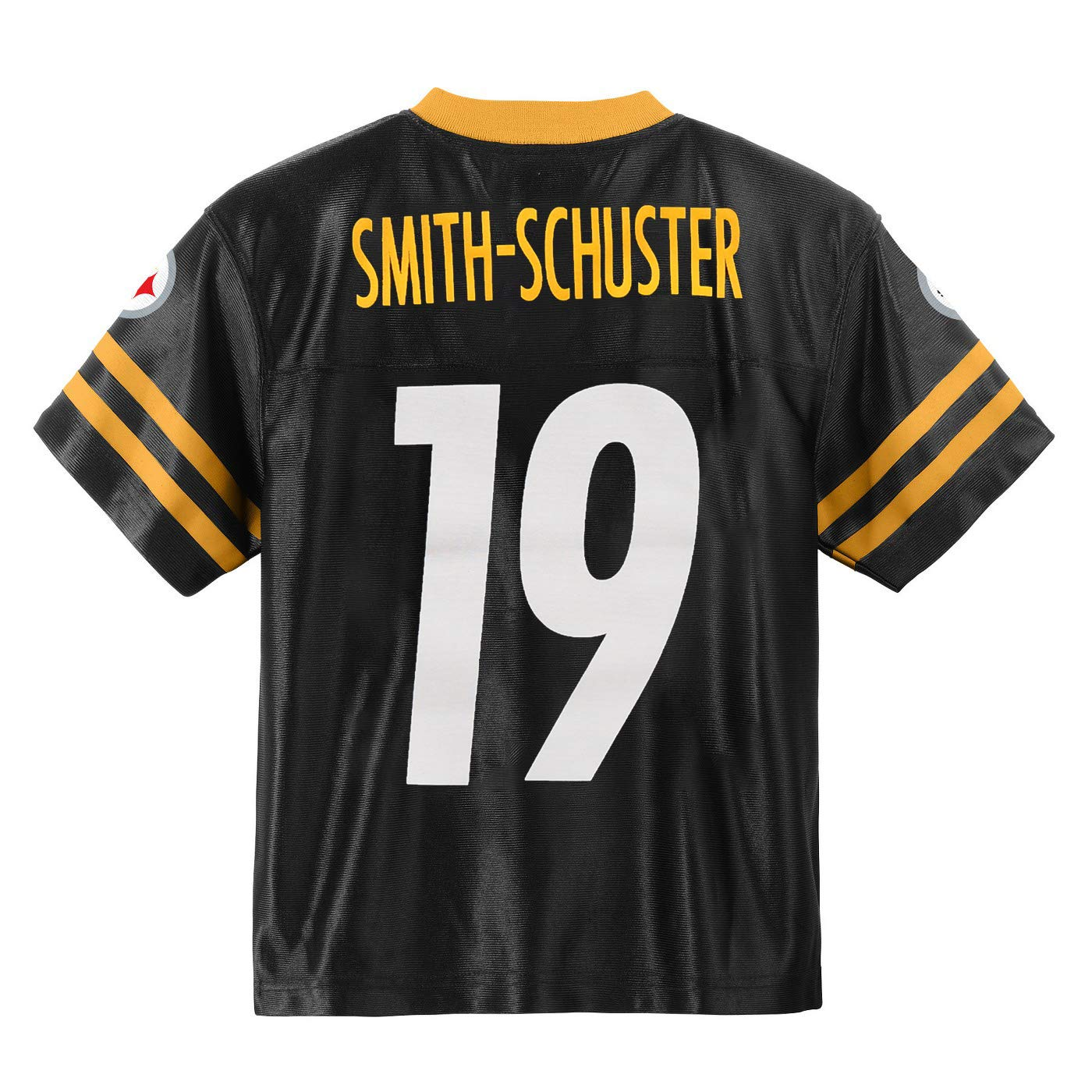 buy popular c88a0 25a41 Outerstuff Juju Smith-Schuster Pittsburgh Steelers #19 Black Youth Home  Player Jersey