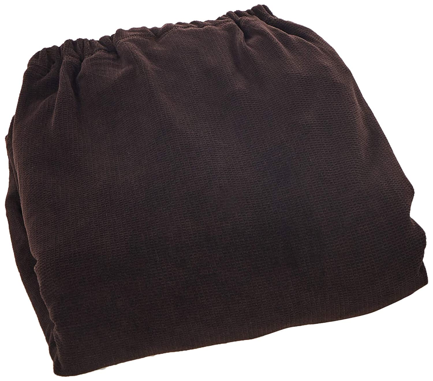 Sure Fit Stretch Metro 2-Piece Chair Slipcover Brown