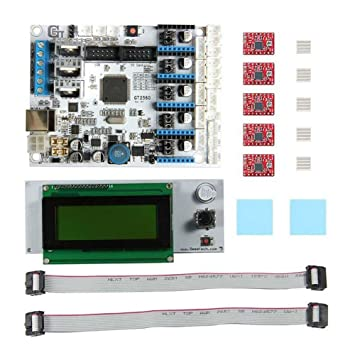 Alftek GT2560 - Kit de impresora 3D (incluye pantalla LCD de 2004 ...