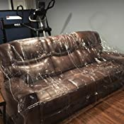 Amazon Com Plastic Couch Cover Pets Cat Scratching