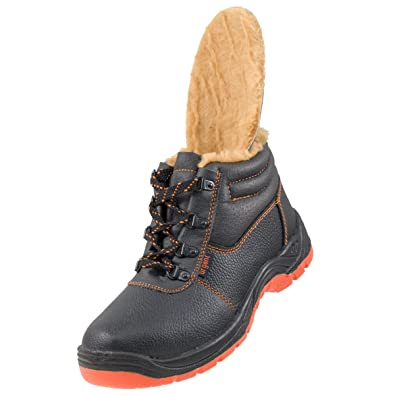 Urgent Lightweight Safety Shoes Ankle WORK BOOTS STEEL TOE CAP 106 SB WINTER