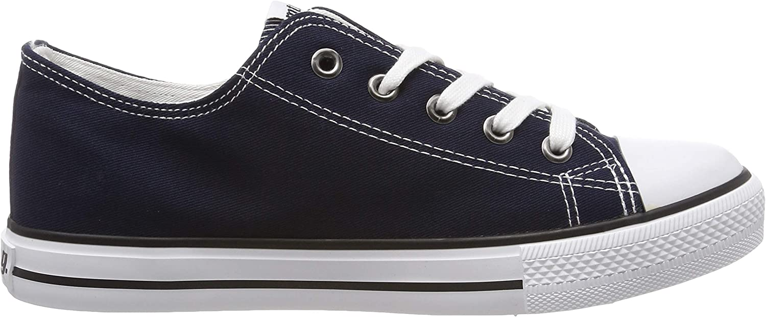 MTNG Boys/' 81200 Trainers Blue 4 4UK Child Canvas Navy I243
