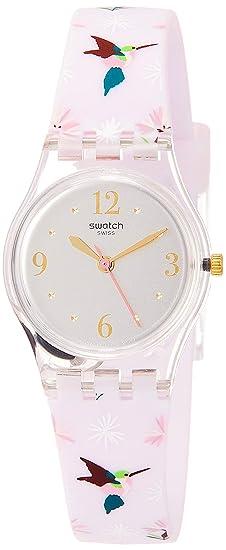 Swatch Reloj Analógico para Mujer de Cuarzo con Correa en Silicona LK376: Swatch: Amazon.es: Relojes