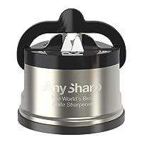 AnySharp Pro Metal Knife Sharpener with Suction