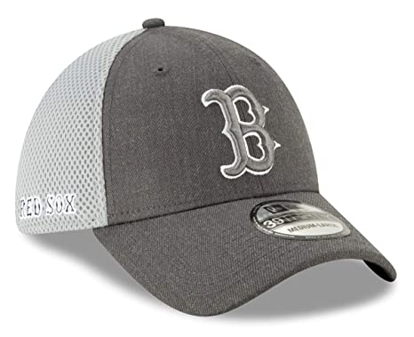 95168bf5 Amazon.com : New Era Boston Red Sox MLB 39THIRTY Heather Front Neo Flex Fit  Hat : Sports & Outdoors