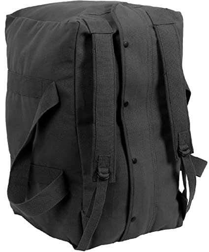 Amazon.com   Heavy Duty Cotton Canvas Large Military Parachute Cargo Bag  with Backpack Straps   Sports   Outdoors 489e06030a7