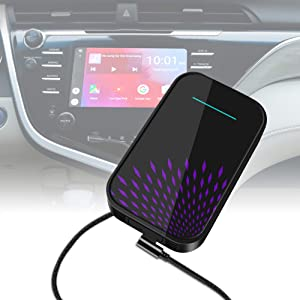 UBISHENG CarPlay Multimedia Play Box for Entertainment, Navigation, Watch YouTube, Android 9.0 32GB Carplay Dongle Apply to Audi Benz Porsche Volvo Cadillac