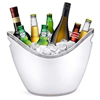 YOBANSA® Seau à Glace Seau à Champagne Seau à vin, Cuisine, Fruits et légumes de Conservation