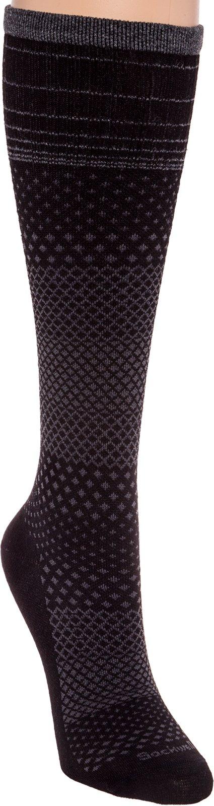 Sockwell Women's Micro Grade Graduated Compression Socks, Black, Small/Medium