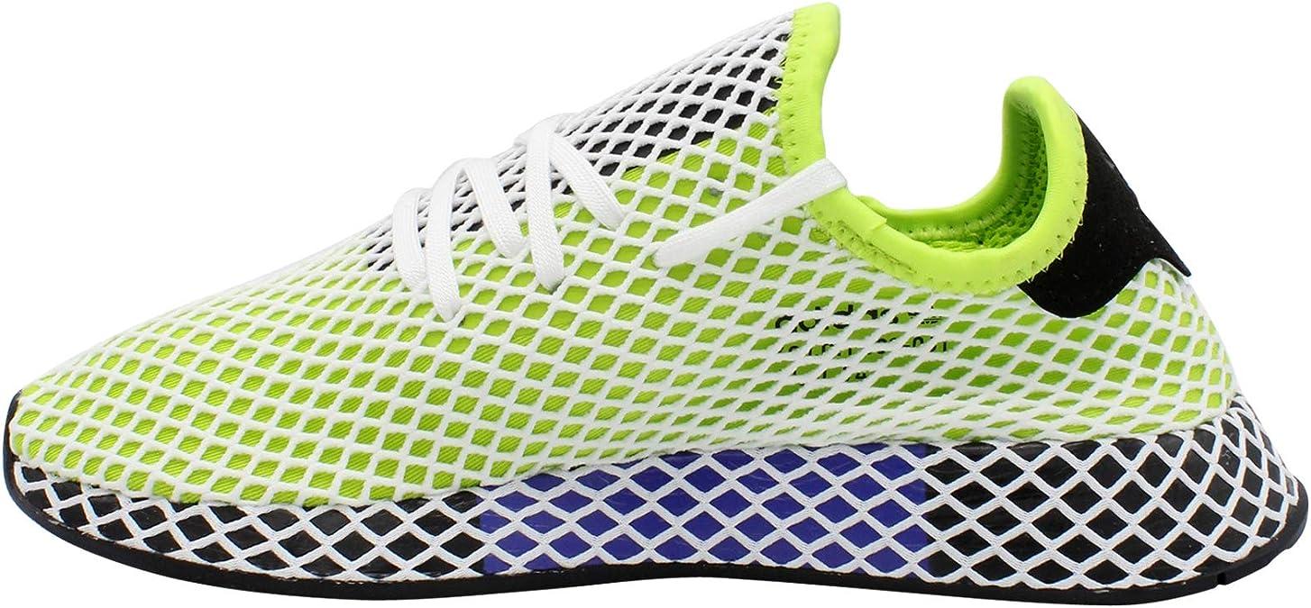adidas Deerupt Jungen, (LimetteSchwarz), 36 EU M Große