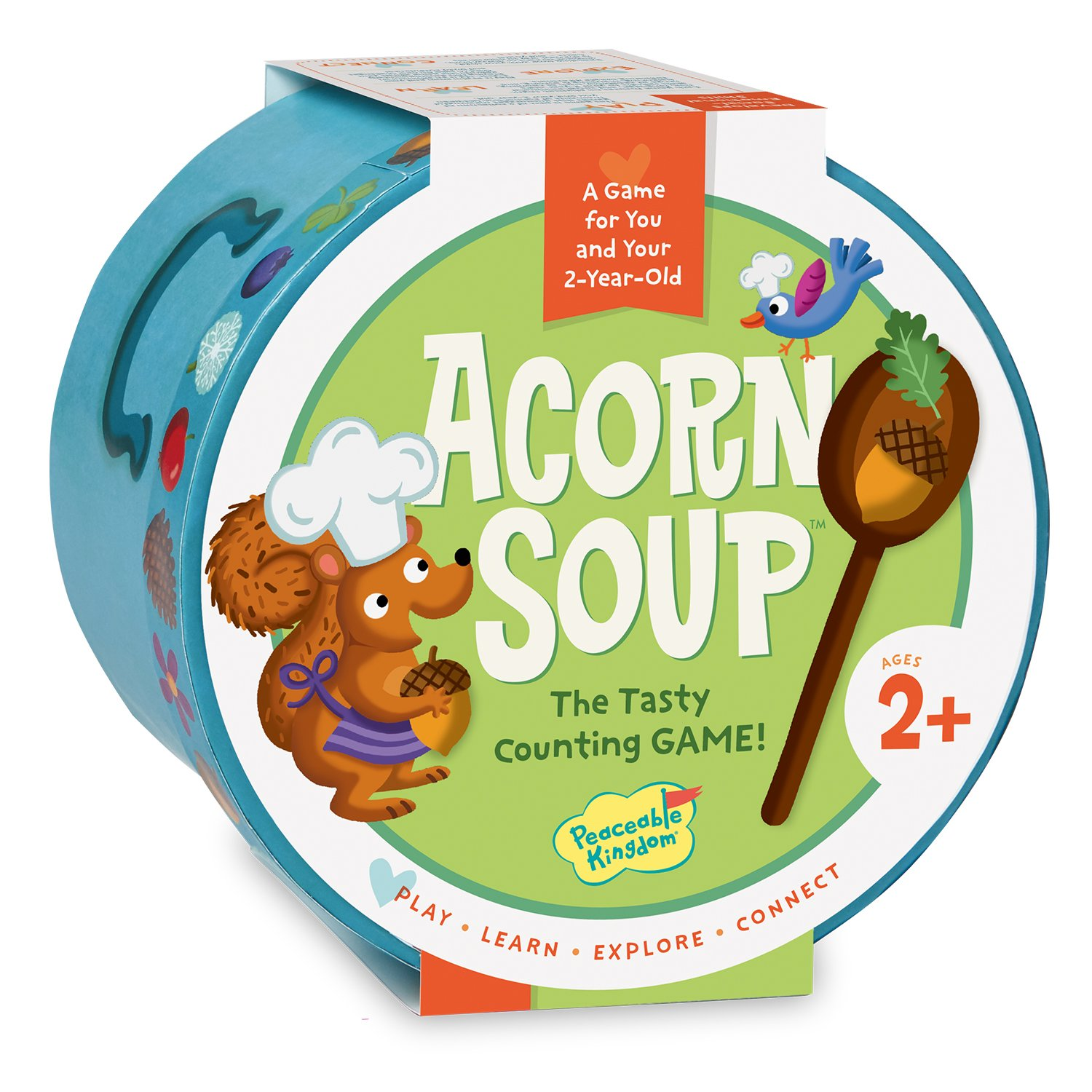 Peaceable Kingdom/Acorn Soup: A Game for You and Your 2-Year-Old by Peaceable Kingdom