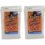 Gorilla 3023003-2 Hot Glue Sticks 4 In. Mini Size, 30Count, (Pack of 2)