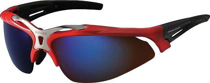 Shimano S70R - Gafas de sol rojo brilliant red Talla:talla única: Amazon.es: Ropa y accesorios