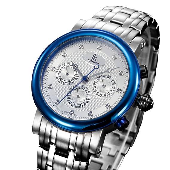 Reloj de hombre versátil/ casual hombres Watch/Relojes mecánicos automáticos/Relojes de moda-E: Amazon.es: Relojes