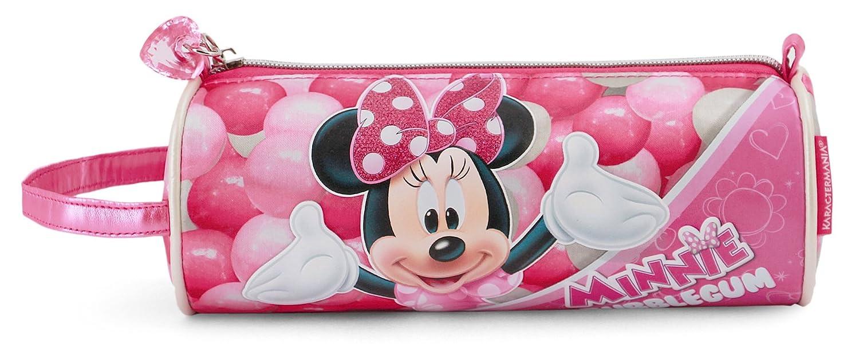 Minnie Mouse Bubblegum Astuccio, 22 cm, Rosa Karactermania 36231