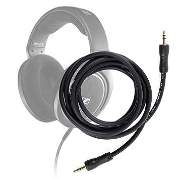 DURAGADGET Cable De Audio para Auriculares Sennheiser HD 598 | Aukey EP-B26 | NUBWO S1 inalámbricos 4.1 | Sunvito 4 en 1: Amazon.es: Electrónica