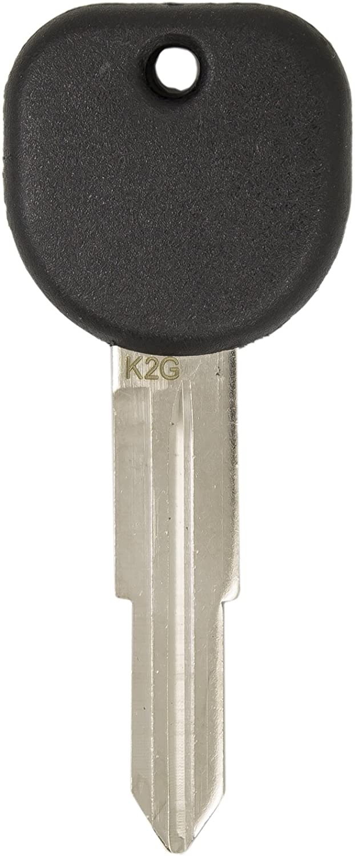 Keyless2Go New Uncut Replacement Transponder Ignition Car Key B114