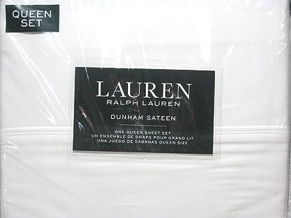 Amazon Com Lauren Ralph Lauren Queen Size Dunham Sateen 4 Piece