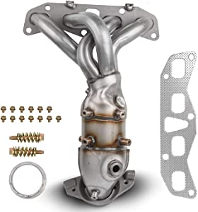MOSTPLUS Front Exhaust Manifold Catalytic Converter w/Gasket For 2002 2003 2004 2005 2006 Nissan Altima 2.5L Replaces 674-659