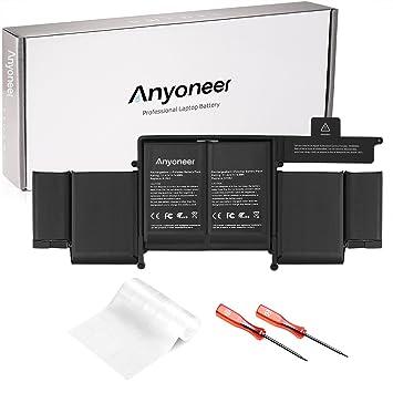 """Anyoneer A1582 batería del Ordenador portátil súper Capacidad de Apple Macbook Pro Retina 13""""A1582"""