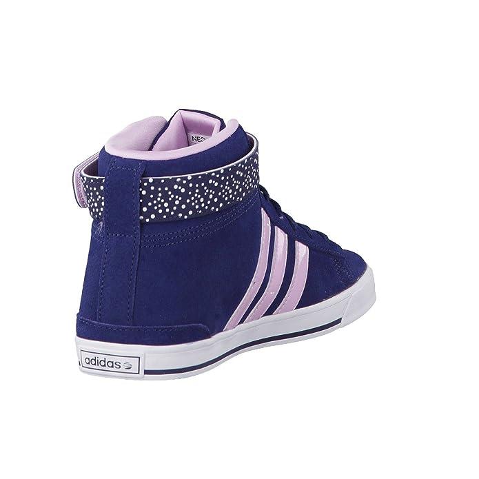 Adidas Daily Twist Mid W - Zapatillas para Mujer, Color Azul Marino/Morado, Talla 36