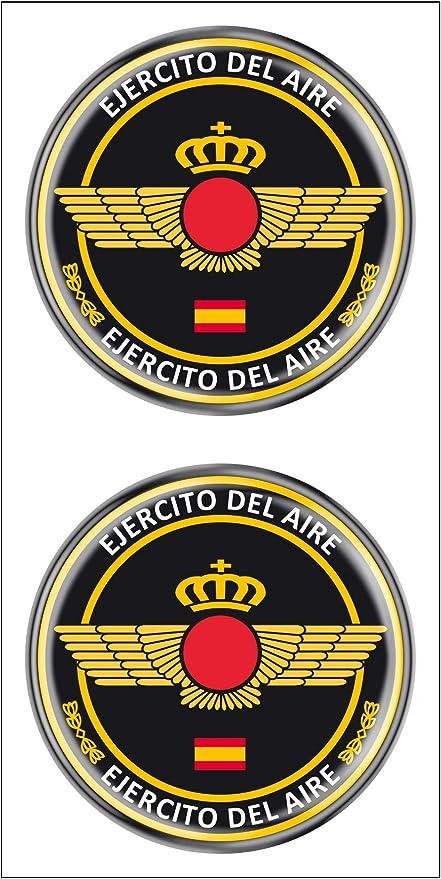 Artimagen Pegatina Círculo Ejército del Aire 2 uds. Resina ø 33 mm ...