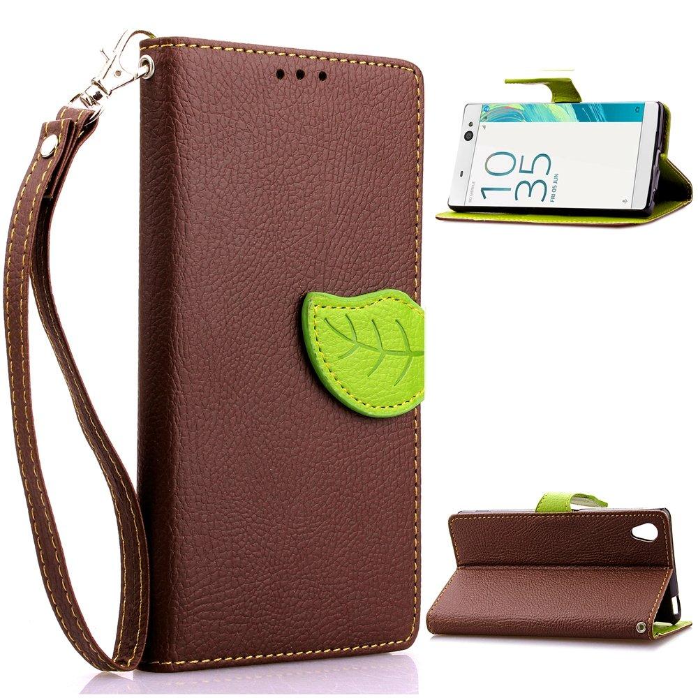 Sony Xperia XA Case, CaseFirst Hoja Cartera Caja PU + TPU ...