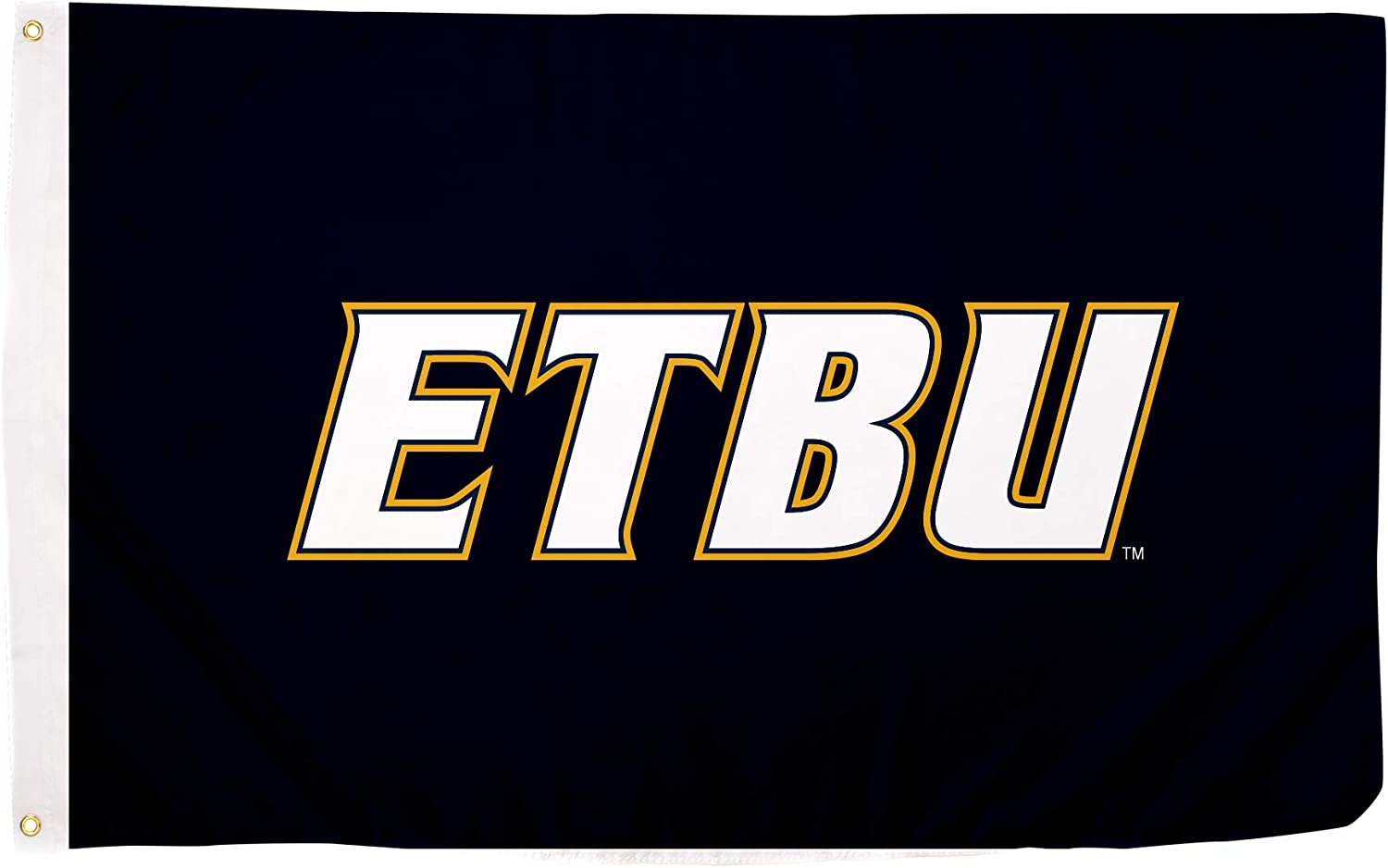 Desert Cactus East Texas Baptist University ETBU Tigers NCAA 100/% Polyester Indoor Outdoor 3 feet x 5 feet Flag