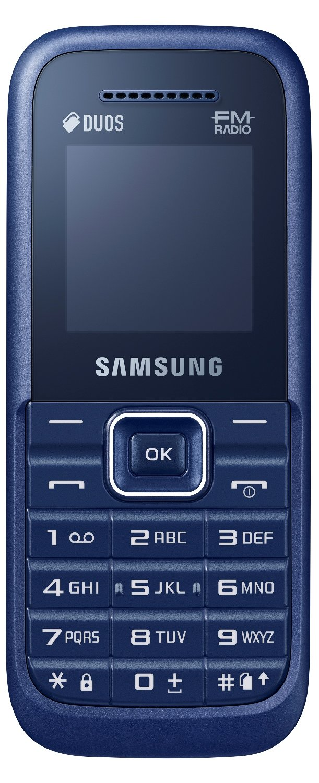Samsung Guru FM Plus (SM-B110E/D, Dark Blue)
