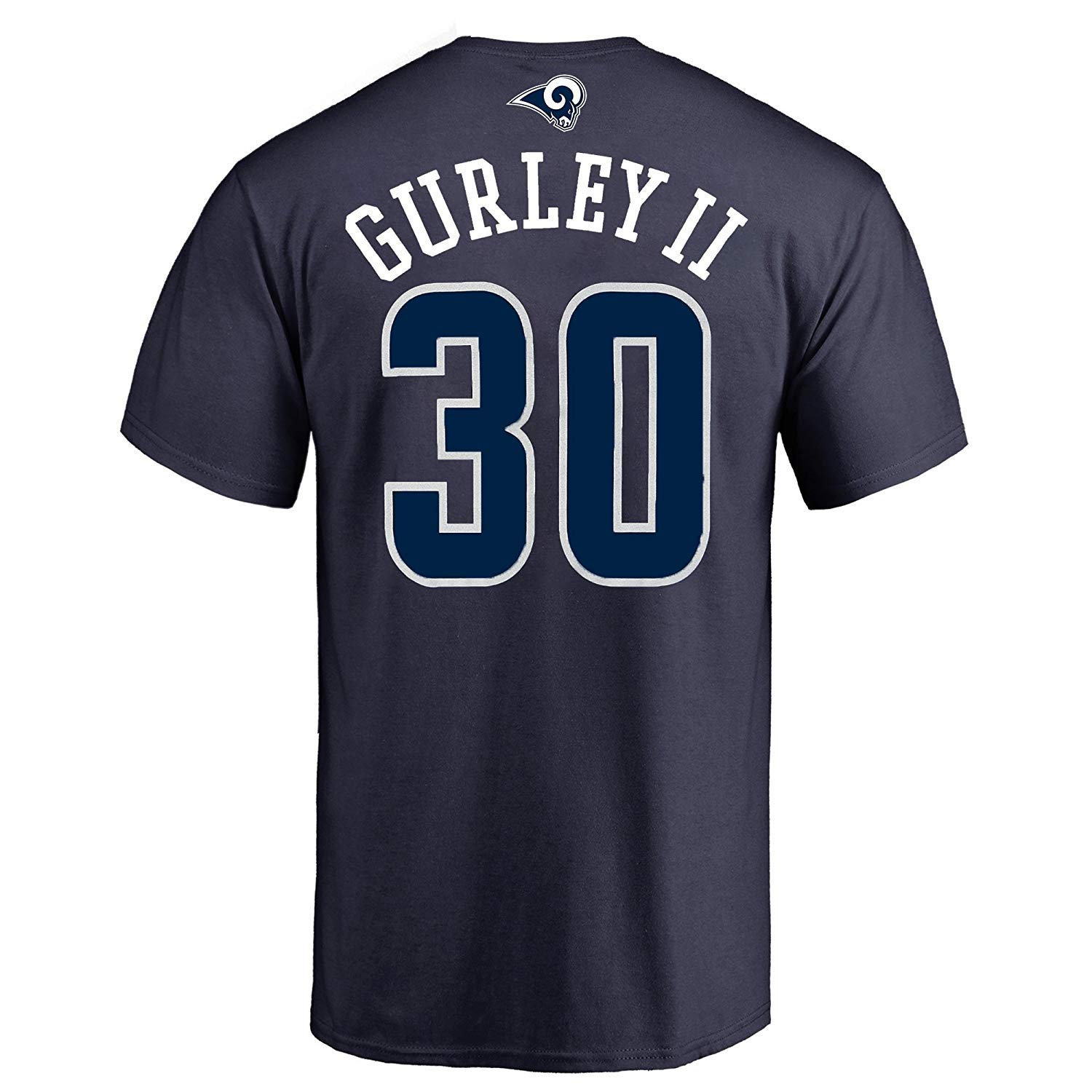 low priced 6d794 ba054 Outerstuff Todd Gurley II Los Angeles Rams #30 Navy Youth Performance Name  & Number Shirt