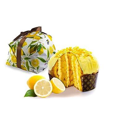 500gr de panettone artesanal con limón relleno de crema de limón - Duci duci - pastelería