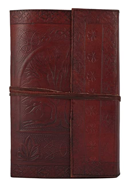 7ebe2f05a63a RUSTIC TOWN Handmade Vintage Antique Looking Genuine Leather Journal Diary  Notebook