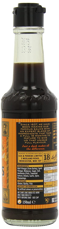Lea & Perrins Salsa Inglesa (150ml) (Paquete de 6): Amazon.es: Alimentación y bebidas