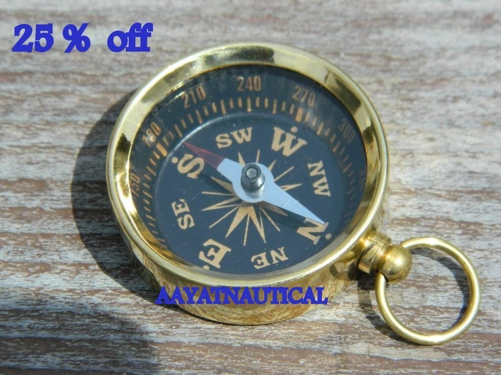 lot-of-300 – antique-brass-working-compass-nautical-gift 25 % OFF B076PHK9TL