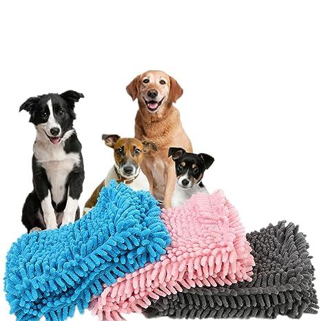 CXYP Mascotas/Perros Toalla, Microfibra Chenilla Toalla, 35 * 60 cm, Extra