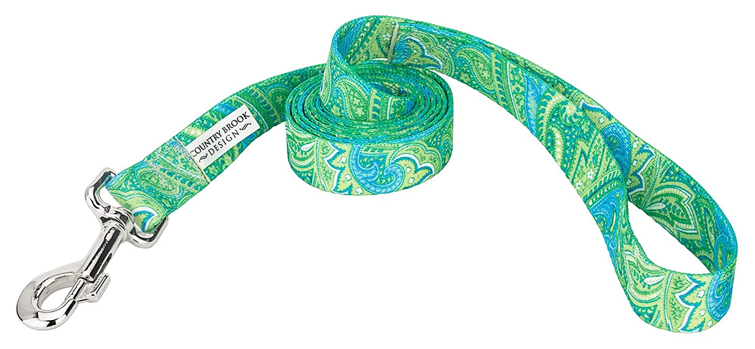 Country Brook DesignDog Leash - Paisley Collection